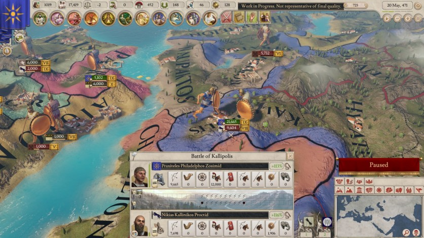 Screenshot 9 - Imperator: Rome