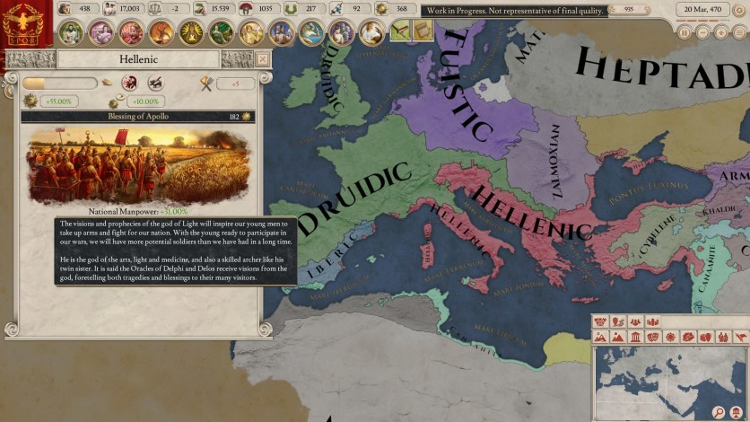 Screenshot 5 - Imperator: Rome Deluxe Edition
