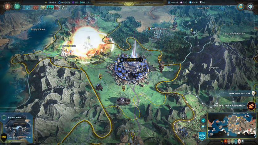 Screenshot 8 - Age of Wonders: Planetfall