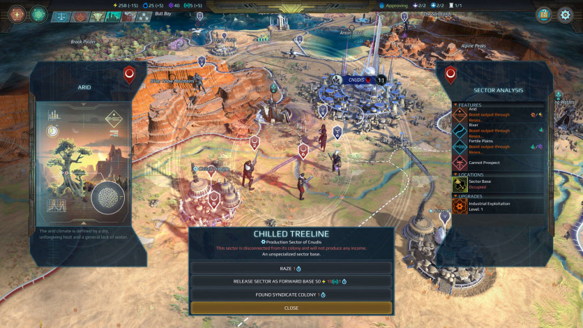 Screenshot 5 - Age of Wonders: Planetfall