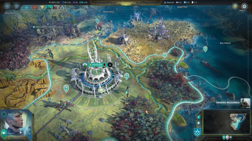 Screenshot 2 - Age of Wonders: Planetfall
