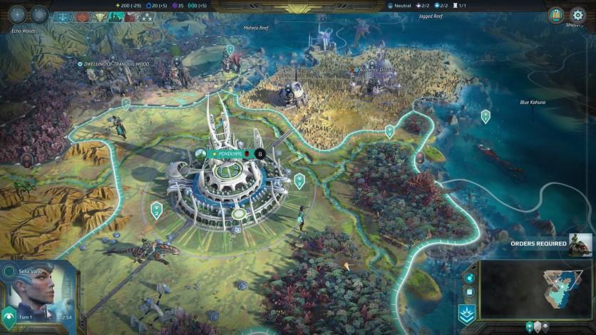 Screenshot 2 - Age of Wonders: Planetfall