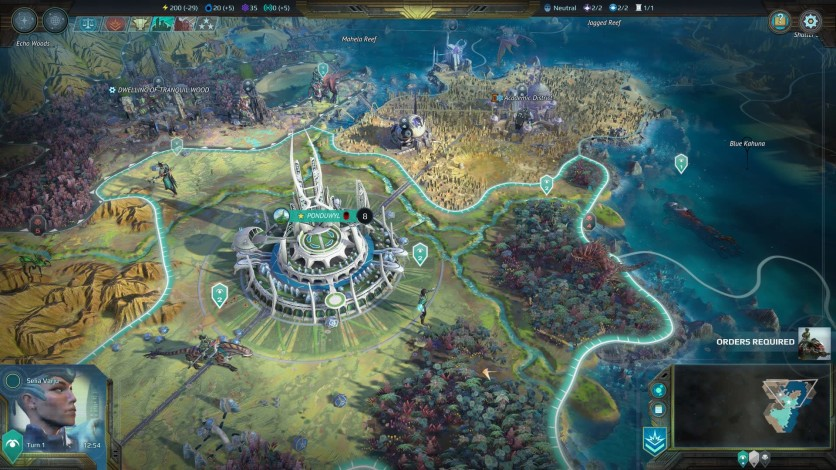 Screenshot 3 - Age of Wonders: Planetfall - Deluxe Edition