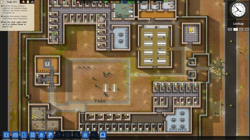 Screenshot 8 - Prison Architect