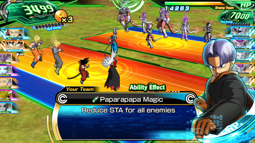 Screenshot 3 - SUPER DRAGON BALL HEROES WORLD MISSION