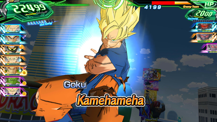 Screenshot 4 - SUPER DRAGON BALL HEROES WORLD MISSION