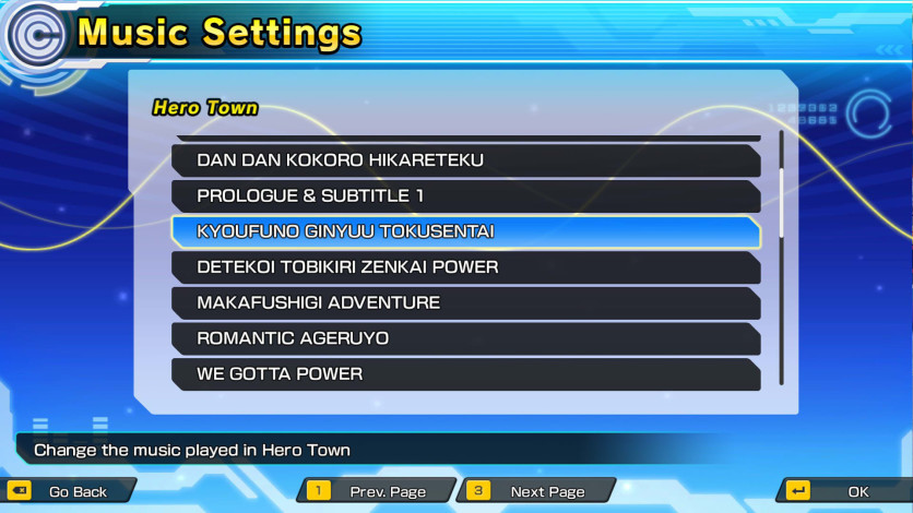 Screenshot 1 - Super Dragon Ball Heroes: World Mission - Anime Music Pack 1