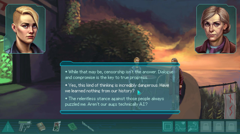Screenshot 4 - Whispers of a Machine