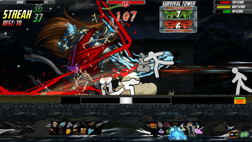Screenshot 2 - One Finger Death Punch 2