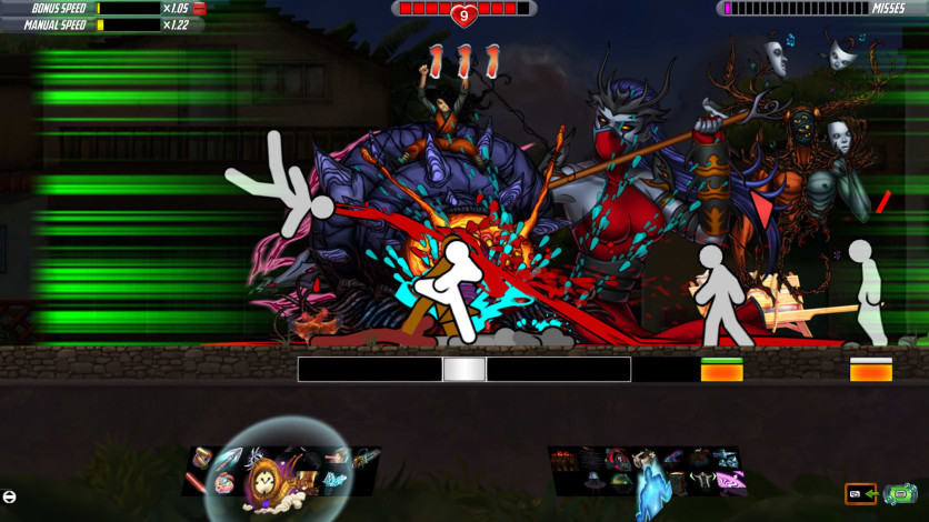 Screenshot 3 - One Finger Death Punch 2