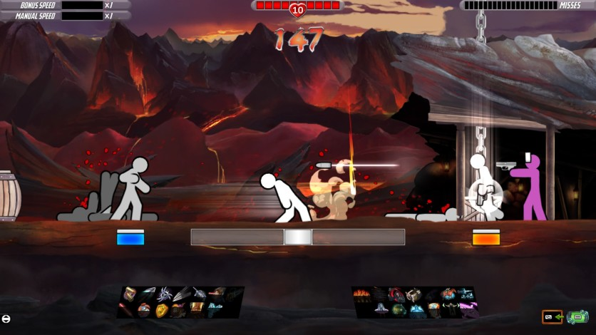 Screenshot 4 - One Finger Death Punch 2