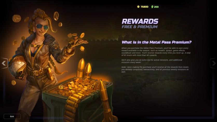 Screenshot 5 - HMM Metal Pass Premium Season 4