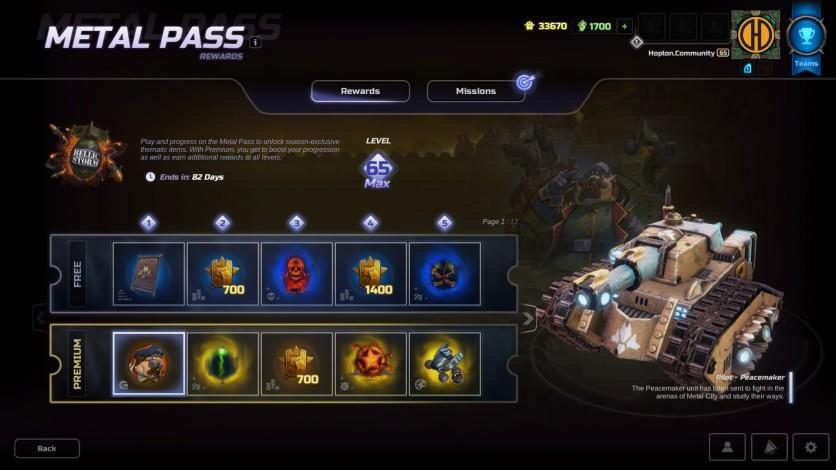 Screenshot 2 - HMM Metal Pass Premium Season 4