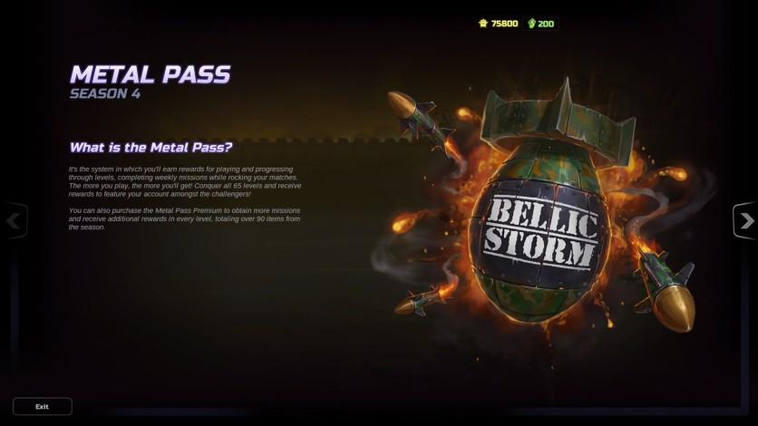 Screenshot 3 - HMM Metal Pass Premium Season 4