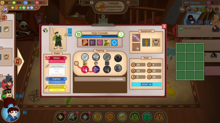 Screenshot 2 - Renowned Explorers - The Emperor's Challenge