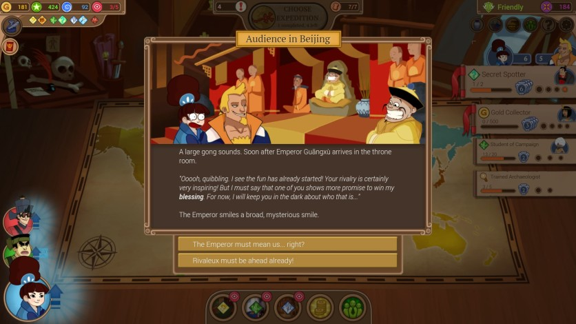 Screenshot 6 - Renowned Explorers - The Emperor's Challenge