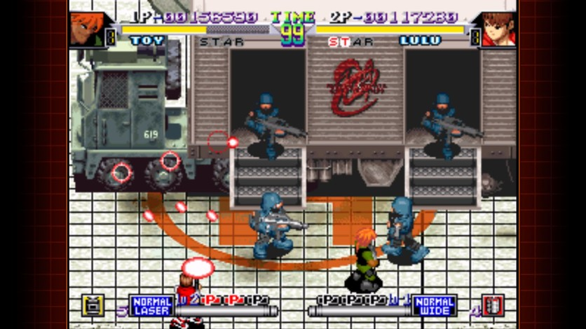 Screenshot 2 - Shock Troopers 2nd Squad
