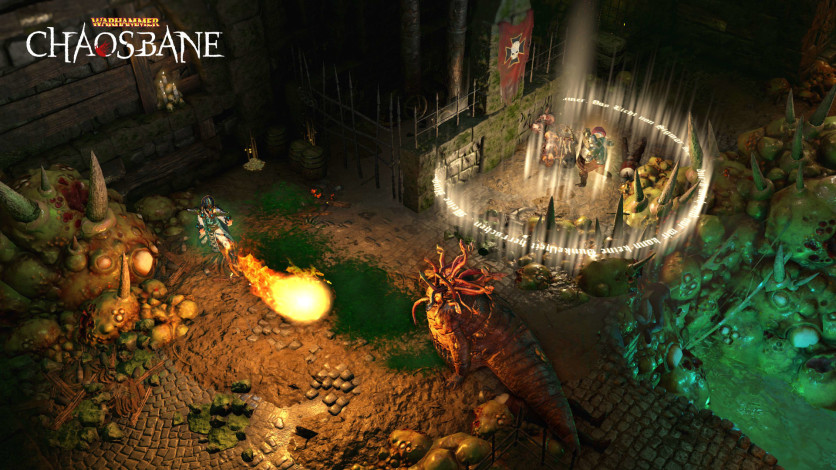 Screenshot 2 - Warhammer: Chaosbane