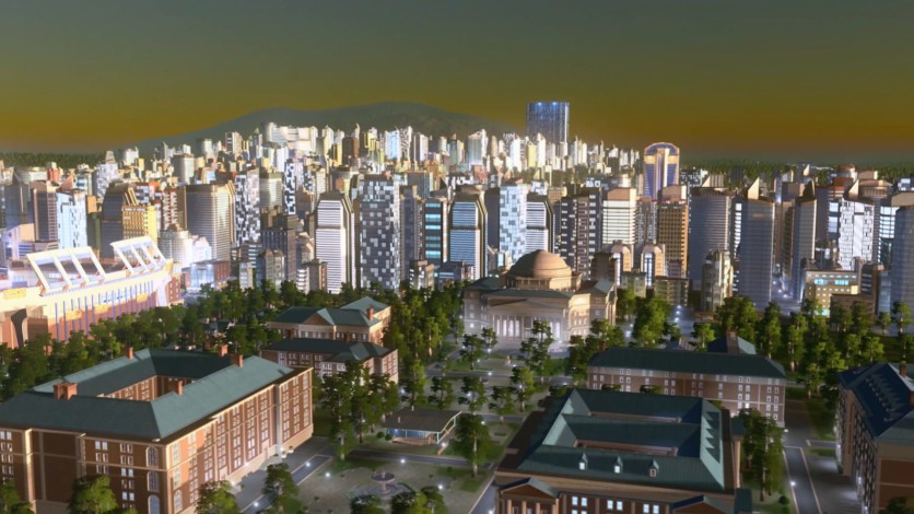 Screenshot 1 - Cities: Skylines - Deep Focus Radio