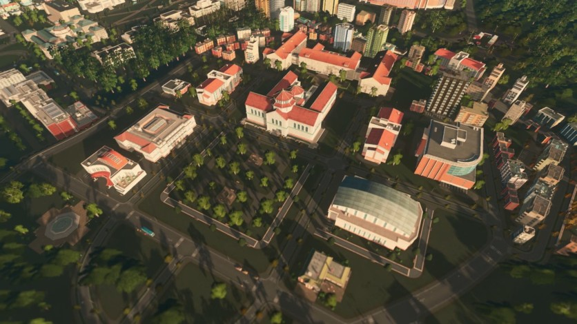 Screenshot 7 - Cities: Skylines - Campus