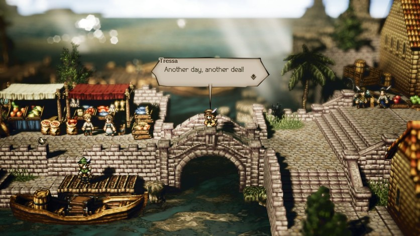 Screenshot 5 - OCTOPATH TRAVELER
