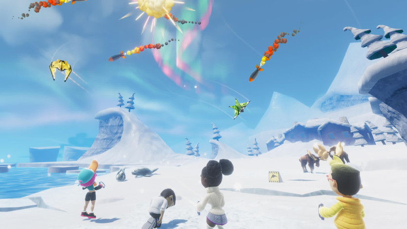 Screenshot 3 - Stunt Kite Party