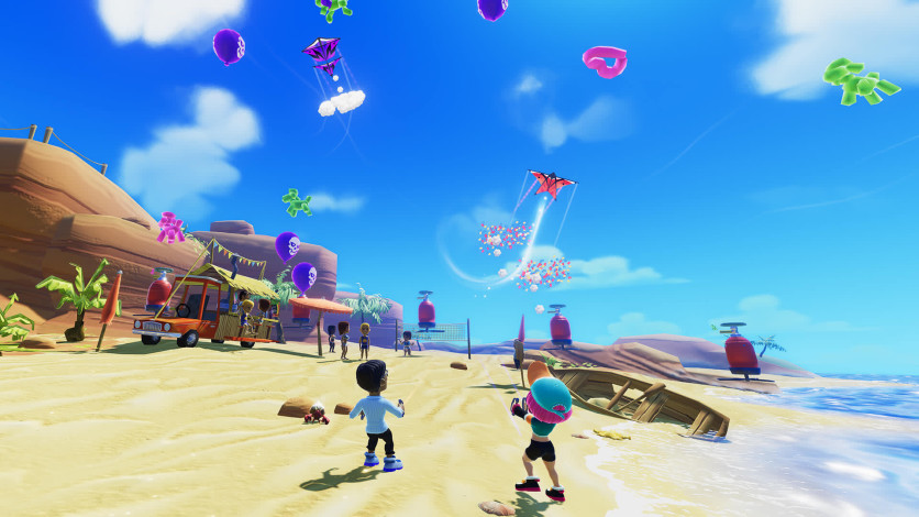 Screenshot 5 - Stunt Kite Party