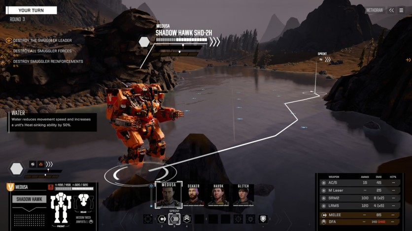Screenshot 5 - BATTLETECH - Shadow Hawk Pack
