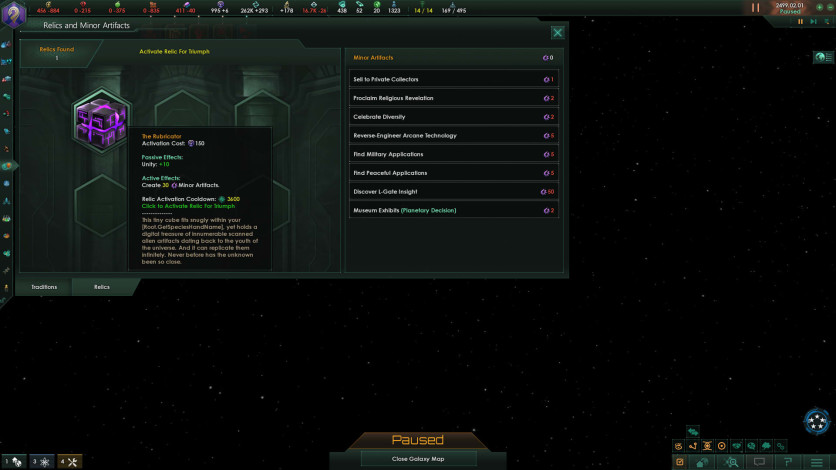 Screenshot 4 - Stellaris: Ancient Relics Story Pack