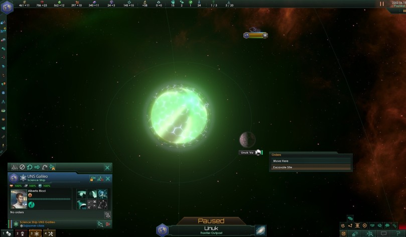 Screenshot 3 - Stellaris: Ancient Relics Story Pack