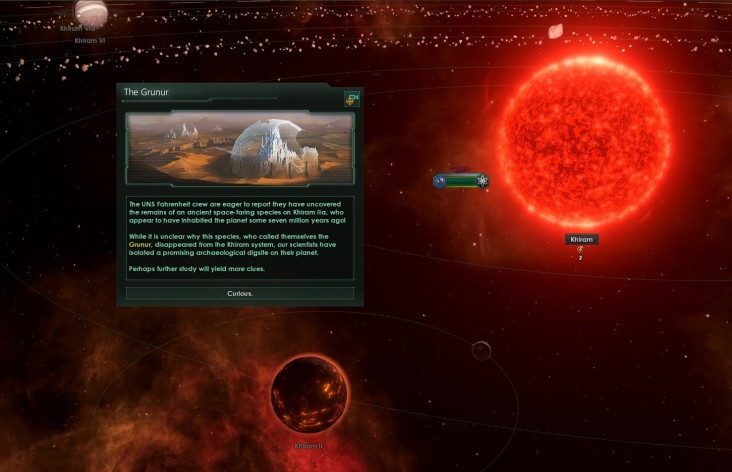 Screenshot 2 - Stellaris: Ancient Relics Story Pack