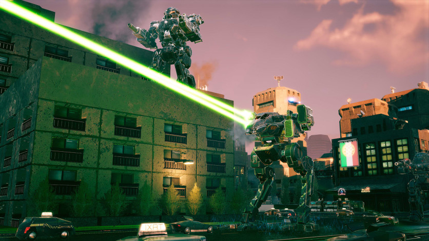 Screenshot 2 - BATTLETECH - Urban Warfare