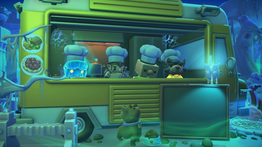 Screenshot 2 - Overcooked! 2 - Night of the Hangry Horde