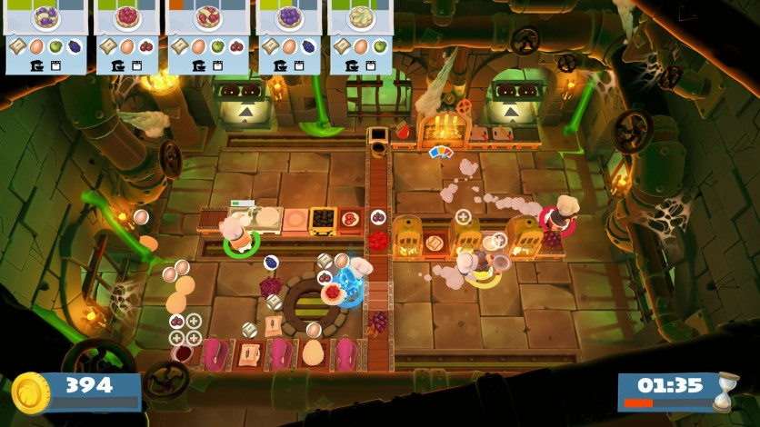 Screenshot 3 - Overcooked! 2 - Night of the Hangry Horde