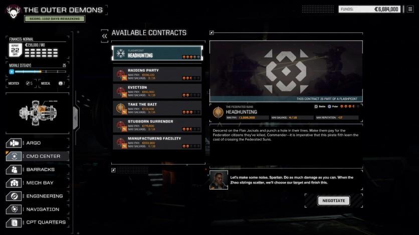 Screenshot 2 - BATTLETECH - Flashpoint
