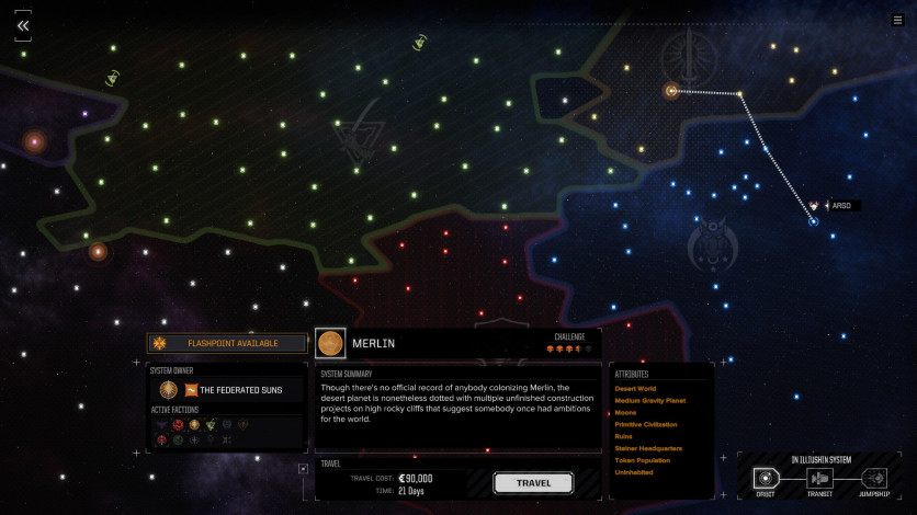 Screenshot 7 - BATTLETECH - Flashpoint