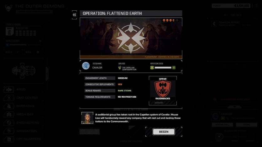 Screenshot 3 - BATTLETECH - Flashpoint
