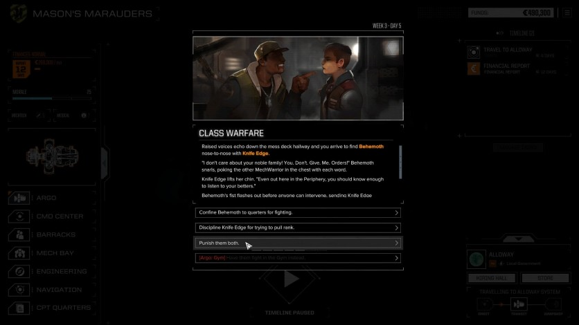 Screenshot 1 - BATTLETECH - Mercenary Collection