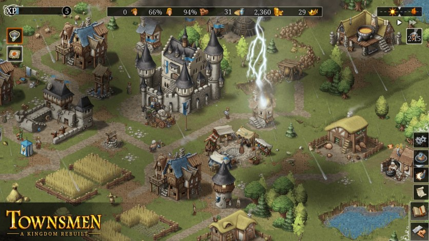 Screenshot 3 - Townsmen - A Kingdom Rebuilt
