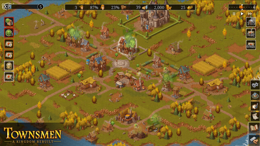 Screenshot 5 - Townsmen - A Kingdom Rebuilt