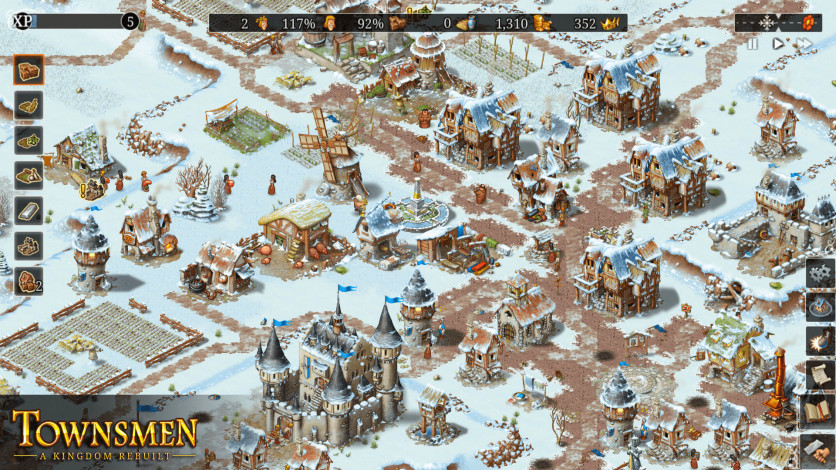 Screenshot 2 - Townsmen - A Kingdom Rebuilt
