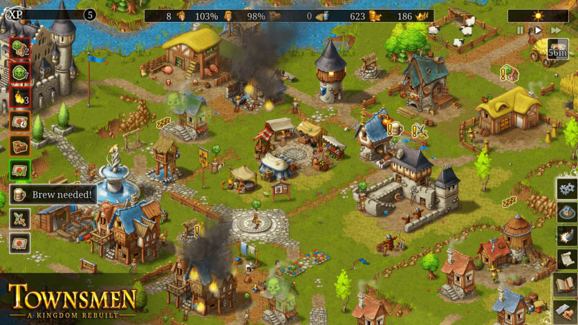 Screenshot 4 - Townsmen - A Kingdom Rebuilt