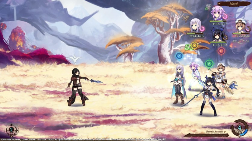 Screenshot 5 - Super Neptunia RPG