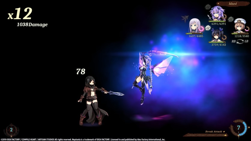 Screenshot 10 - Super Neptunia RPG