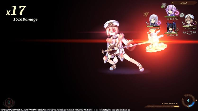 Screenshot 11 - Super Neptunia RPG