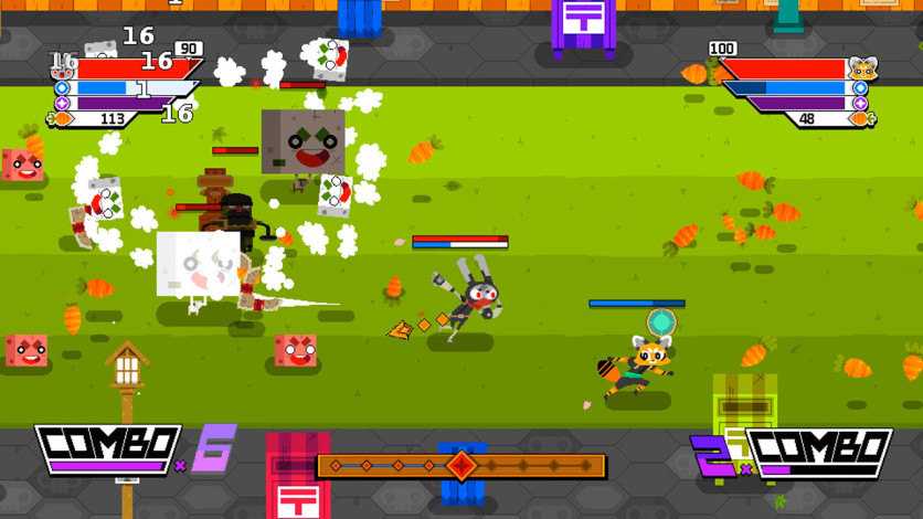 Screenshot 6 - Ninjin: Clash of Carrots