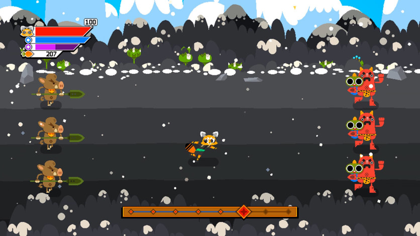 Screenshot 5 - Ninjin: Clash of Carrots