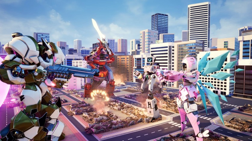 Screenshot 3 - Override: Mech City Brawl - Super Charged Mega Edition