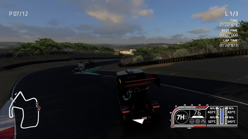 Screenshot 7 - FIA European Truck Racing Championship