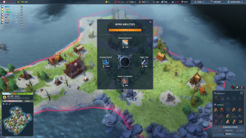 Screenshot 3 - Northgard - Lyngbakr, Clan of the Kraken
